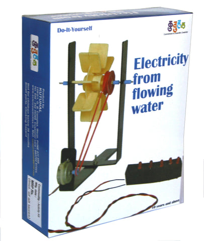 Hydro electricity from flowing water Kit