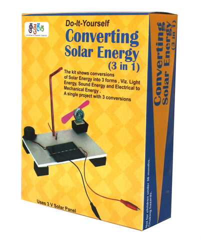 Multiple Conversions of Solar energy