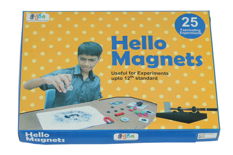 Hello Magnet Magnetism Do It Yourself DIY Kit Educational Toys Science School Project