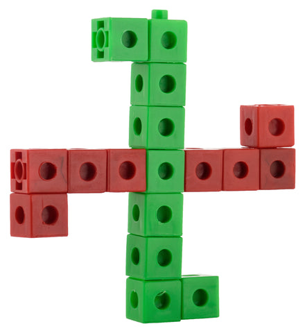 #T107 - Unlimited Creations & Mathematics Learning using Pack 100 Unifix Cubes.