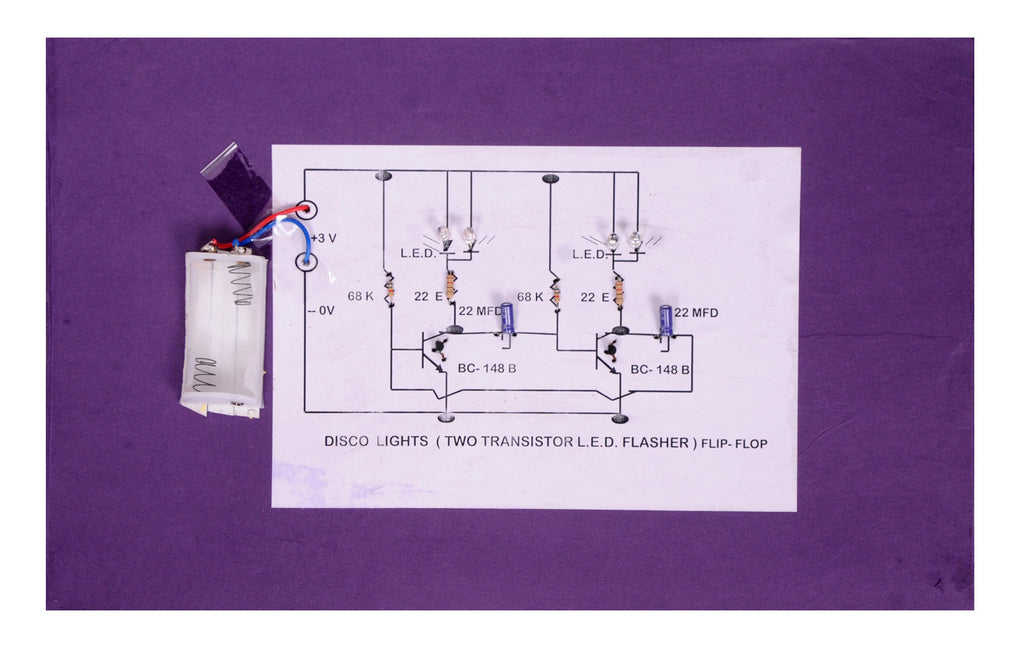 Disco Lights Circuit Diagram | Disco Lights Led Flip Flop Flasher Joyful And Meaning Education