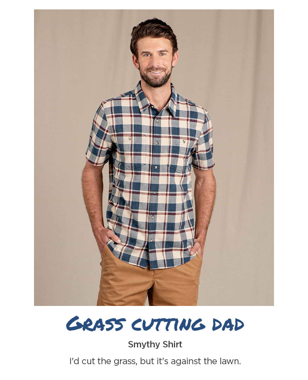 For the Grass cutting Dad - Smythy Shirt