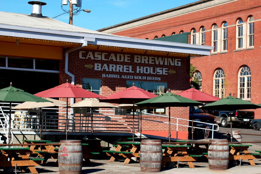 With an awesome outdoor patio and a huge selection of sour beers, Cascade Brewing Barrel House is a fantastic place to wile away the hours