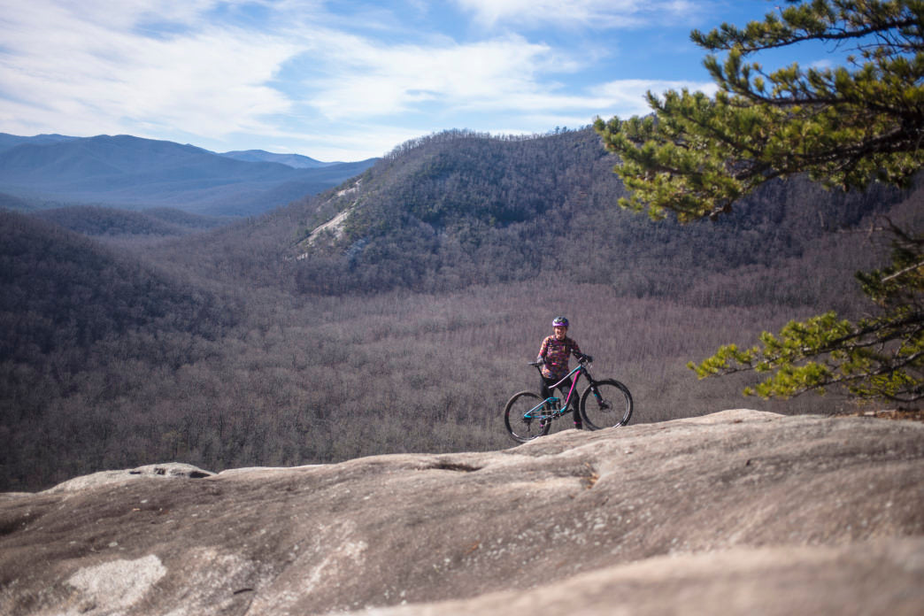Pisgah National Forest covers more than 500,000 acres. Jeff Bartlett