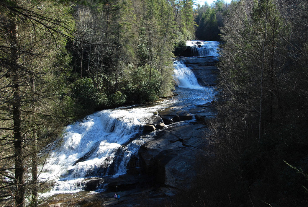 Triple Falls in the DuPont State Forest.