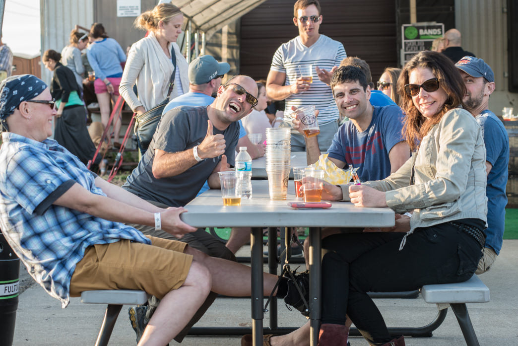 The Fulton Taproom is a local favorite. Photo courtesy of Fulton Beer