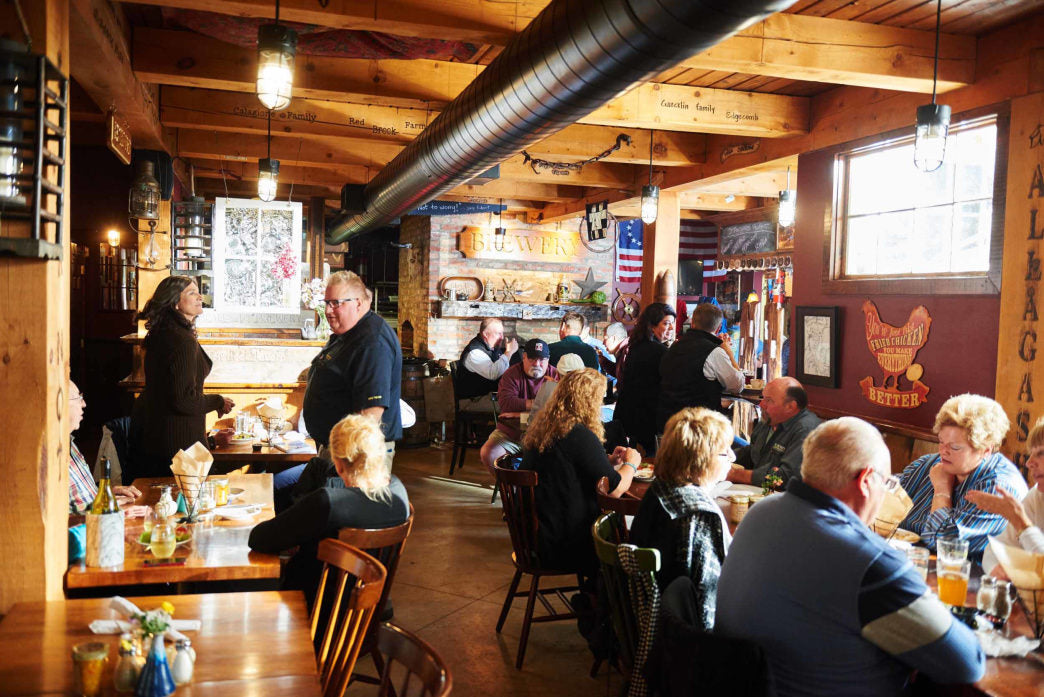 Boothbay Craft Brewery is a close four miles from Oven's Mouth Preserve.