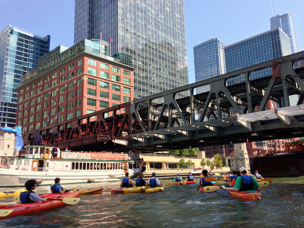 Chicago River SUP.
