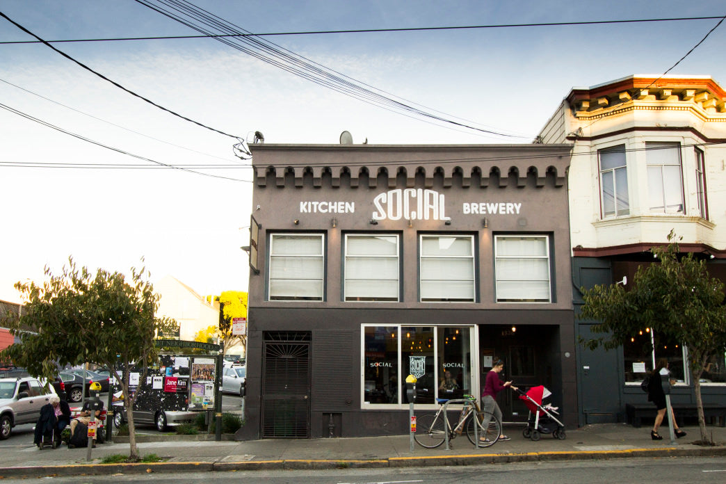 Social Kitchen & Brewery is a just a couple blocks from Golden Gate Park.