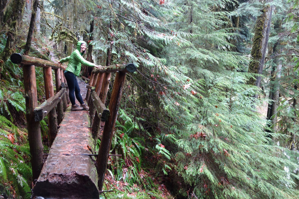 The Boulder River Trail is a great warmup for spending some quality time at River Time Brewing.