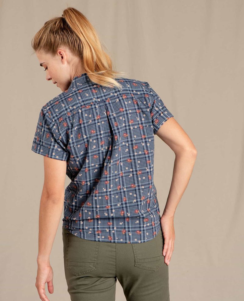 Willet Tie Short Sleeve Shirt