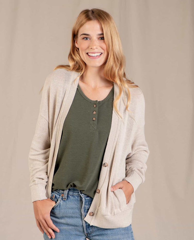 Hemply Long Sleeve Cardigan