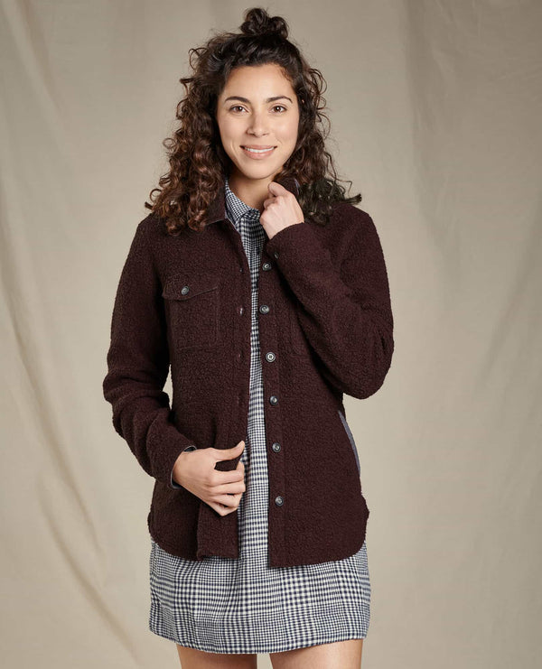 Women's Telluride Sherpa Shirt Jacket