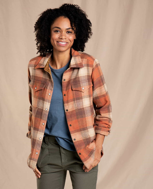 Folk Yeah Shirt Jacket