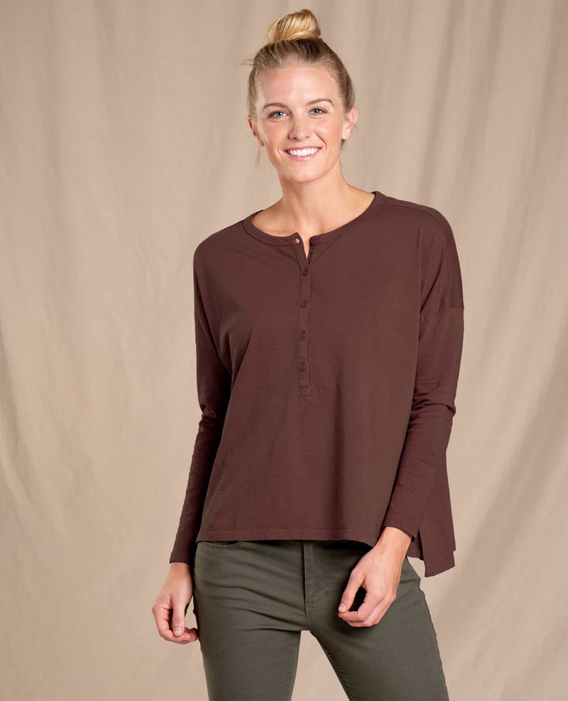 Women's Primo Henley Long Sleeve