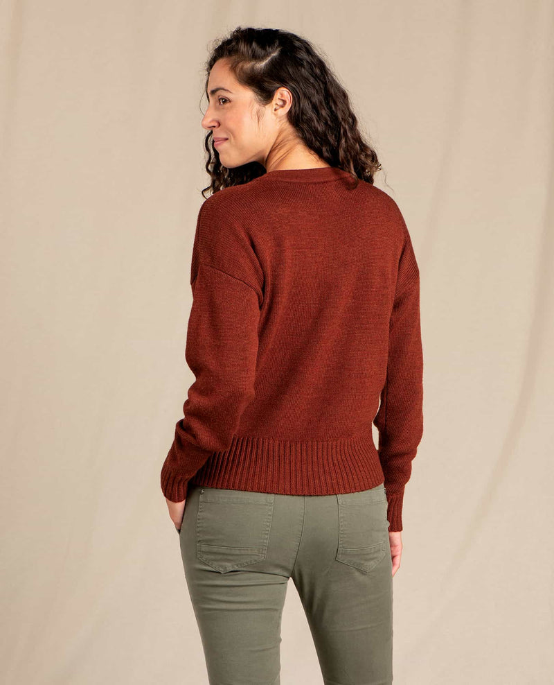 Deerweed V-Neck Sweater