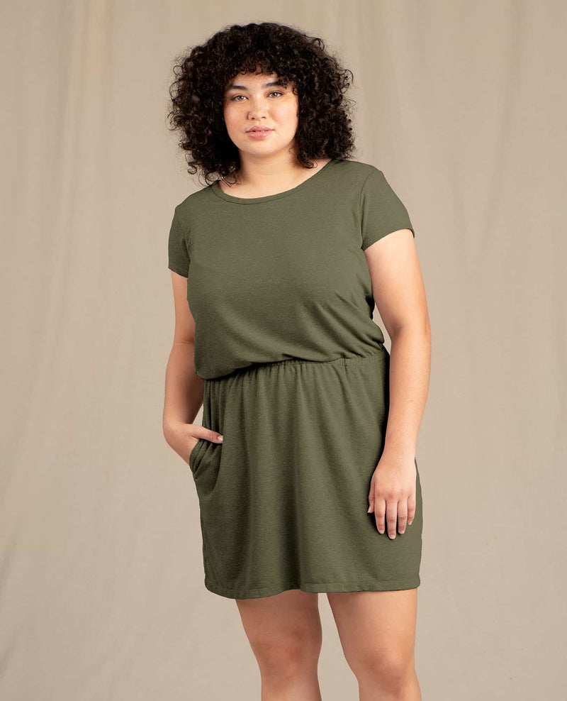 Piru Short Sleeve Dress