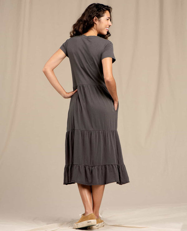 Women's Primo Tiered Midi Dress