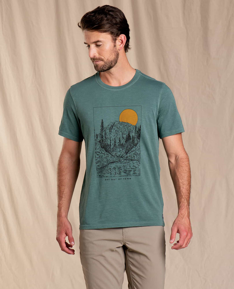 Get Out Of Town Short Sleeve Tee