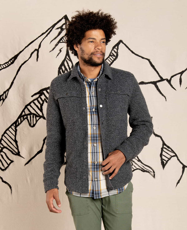 Men's Telluride Sherpa Shirt Jacket