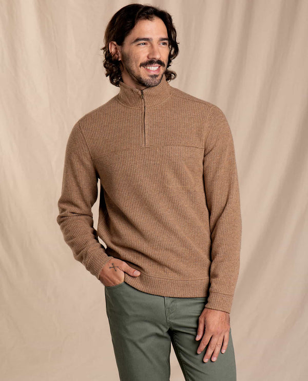 Breithorn Quarter Zip Sweater