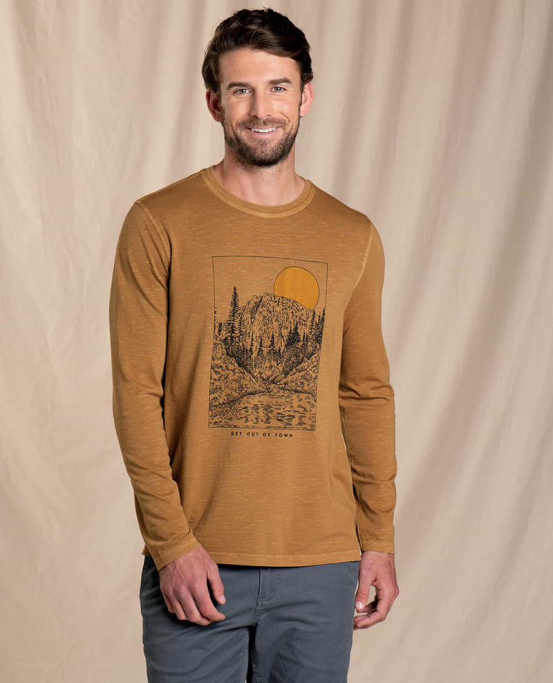 Get Out Of Town Long Sleeve Tee