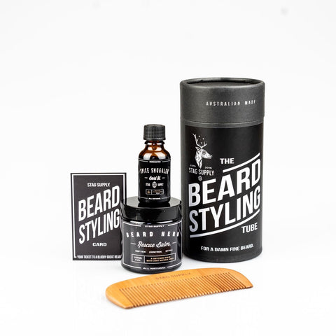 STAG SUPPLY BEARD STYLING TUBE GIFT PACK