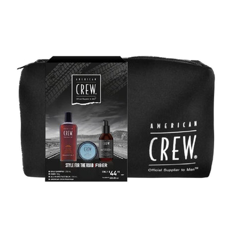 AMERICAN CREW STYLE FOR THE ROAD FIBER TRIO PACK