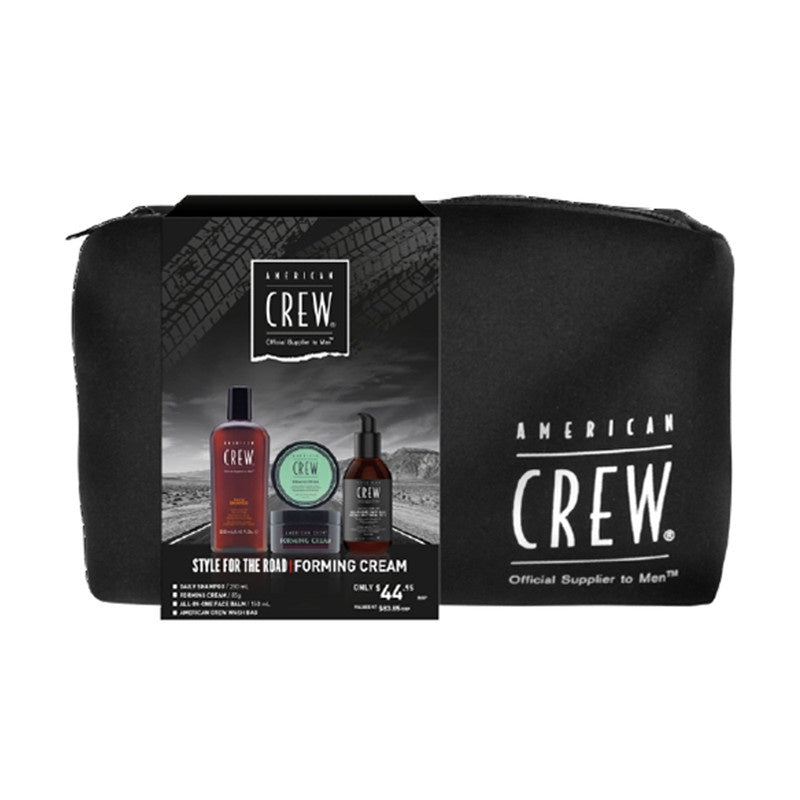 American Crew Style For The Road Forming Cream Trio Pack
