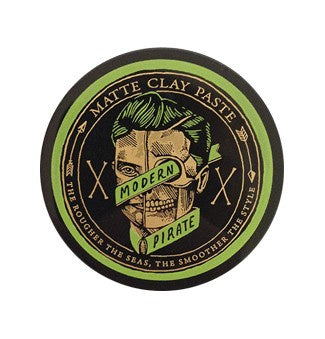 Modern Pirate Matte Clay Paste (Green)