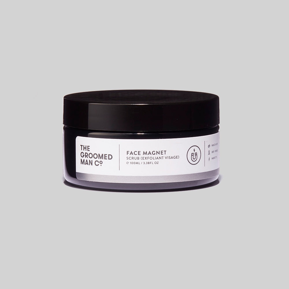 The Groomed Man Co - Face Magnet Scrub / 100ml