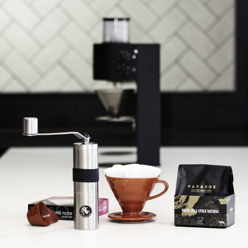 Ultimate Brew Kit With Grinder & Single Origin Coffee- Paradox Coffee