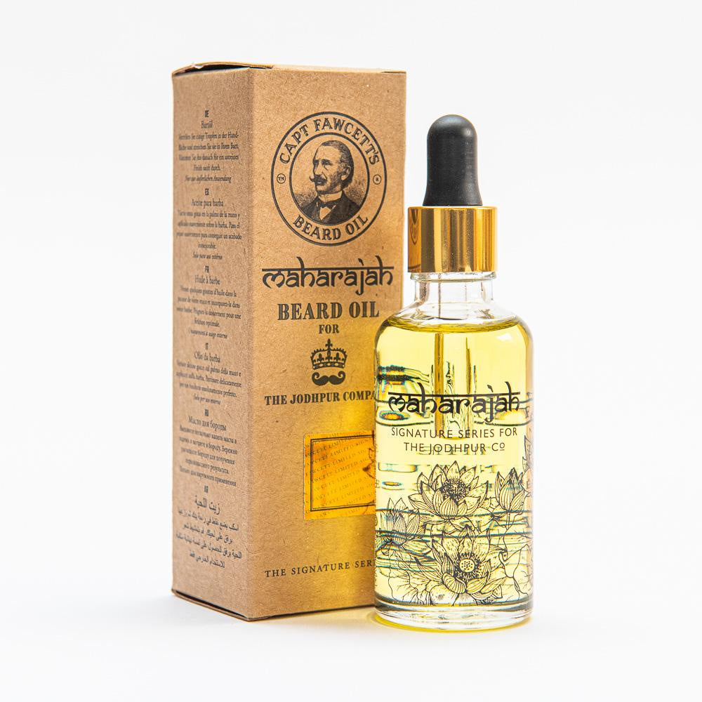 Captain Fawcett's Maharajah Beard Oil 50ml