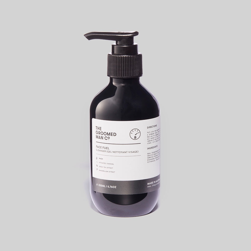 The Groomed Man Co - Face Fuel Cleanser / 200ml