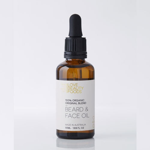 Love Beauty Foods Organic Beard & Face Oil 50ml