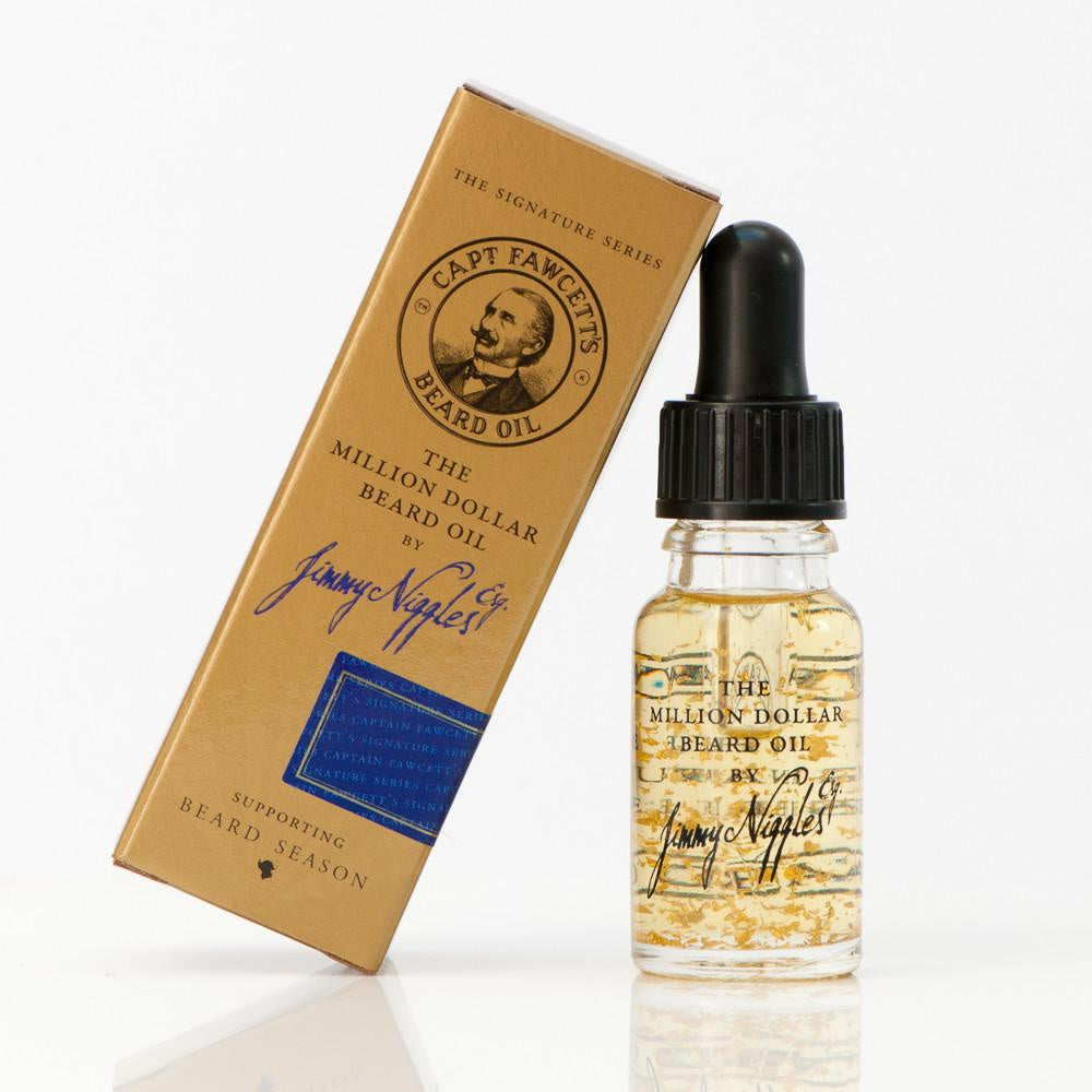 Captain Fawcetts Jimmy Niggles Travel Size Beard Oil