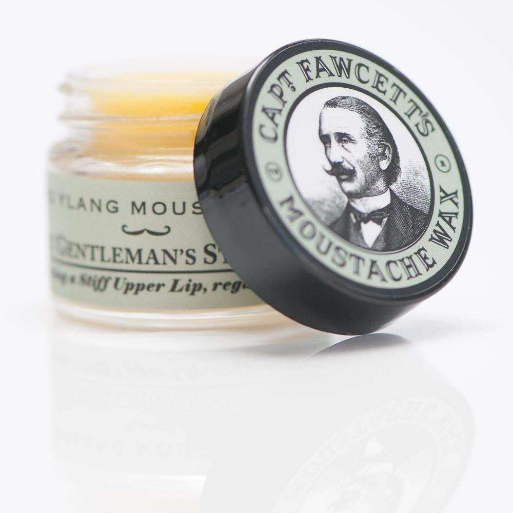 Captain Fawcetts Moustache Wax Ylang Ylang