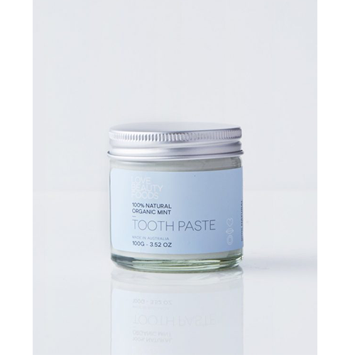 Love Beauty Foods Organic Mint Toothpaste 100g