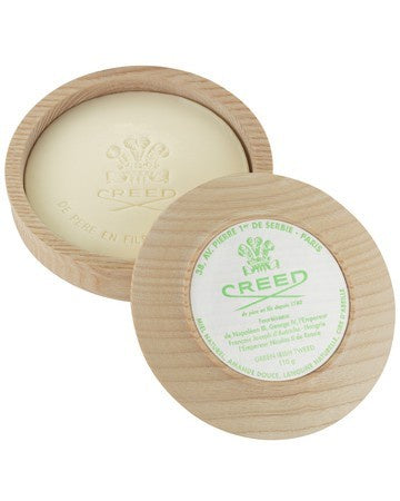 Creed Green Irish Tweed Shave Soap & Bowl