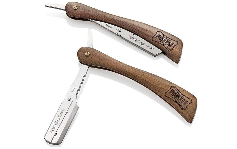 Proraso Shavette with Wooden Handle