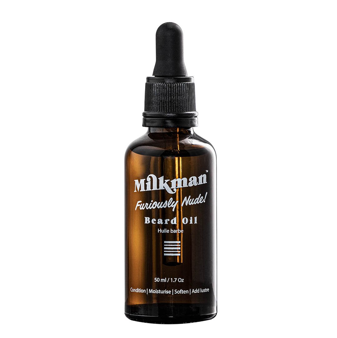 Milkman Beard Oil Furiously Nude Unscented 50ml