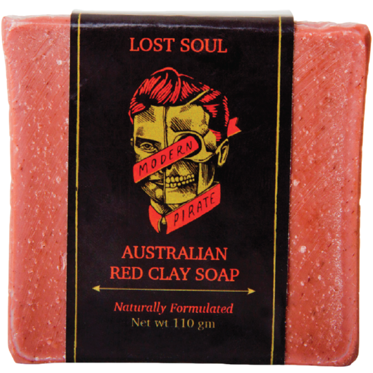 Modern Pirate Red Clay Soap