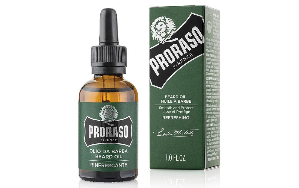 Proraso Refresh Eucalyptus & Rosemary Beard Oil - 30ml