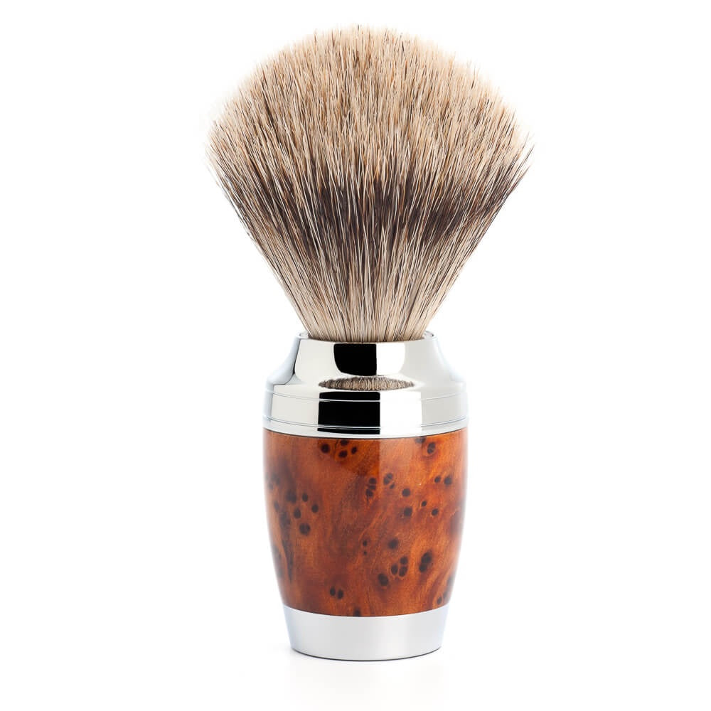 Muhle Fine Badger Brush 281H71 Thuja Wood