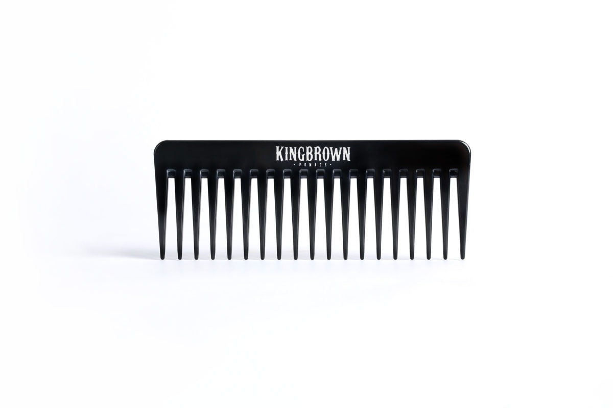 King Brown Black Texture Comb