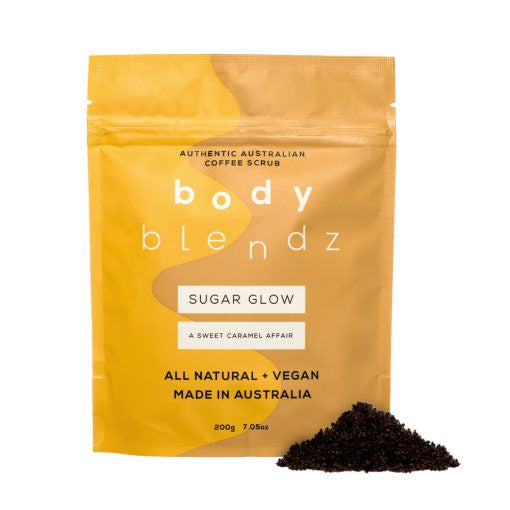 Body Blendz Sugar Glow Coffee Scrub 200g