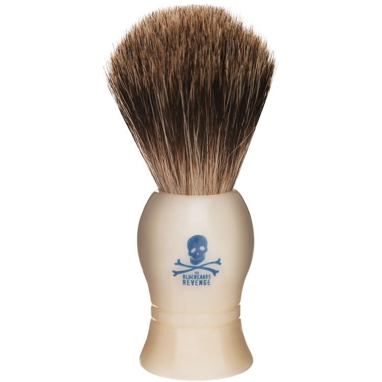 Bluebeards Revenge Badger Shaving Brush White