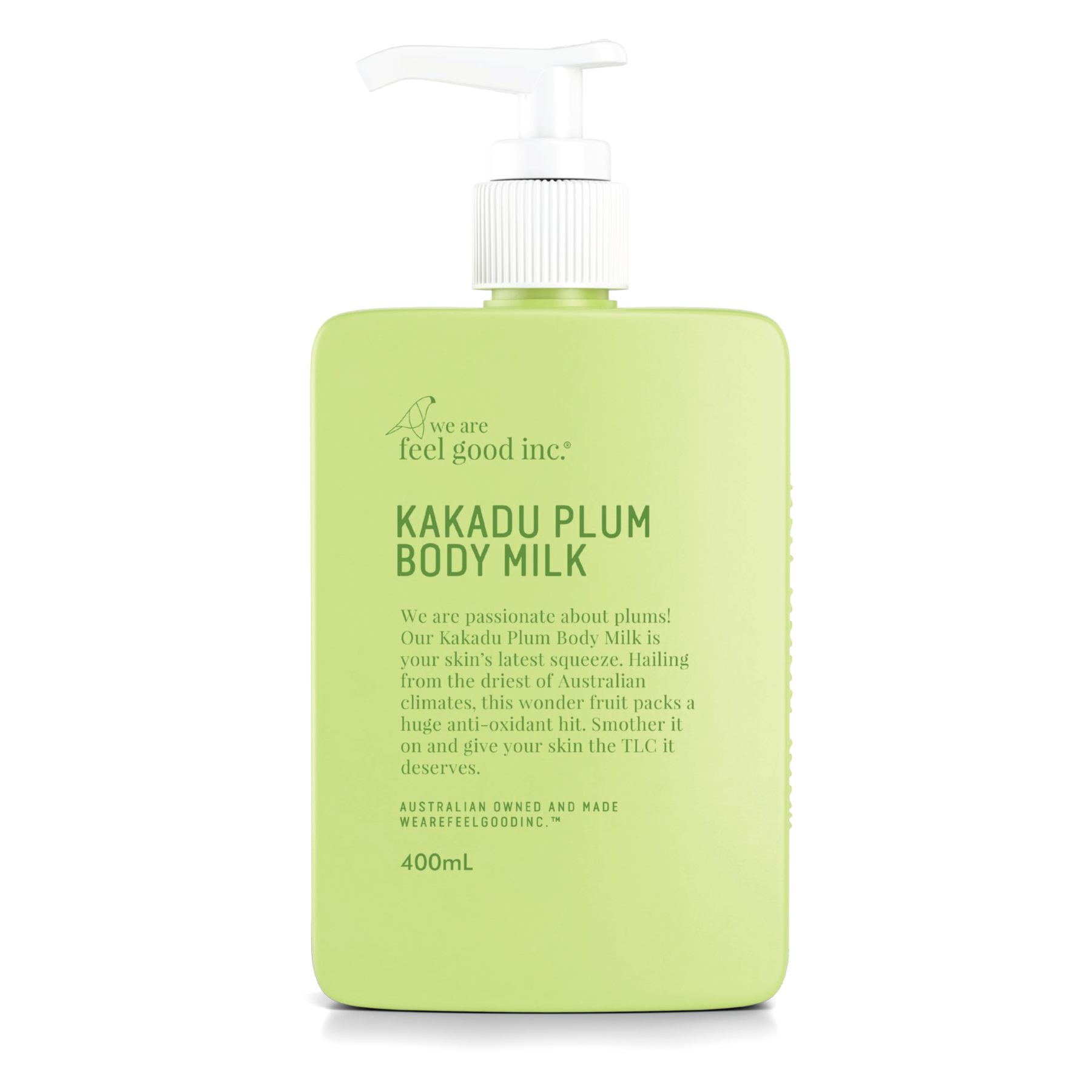 We Are Feel Good Inc Kakadu Plum Body Milk 400ml