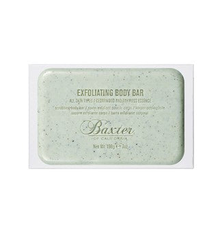 Baxter Exfoliating Body Bar Cedarwood & Oakmoss