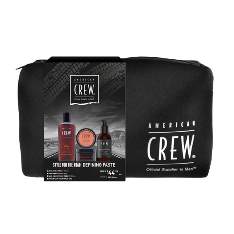 American Crew Style For The Road Defining Paste Trio Pack